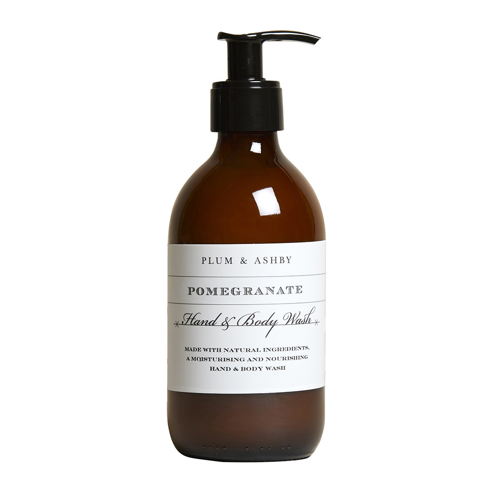 Plum  Ashby - Hand and Body Wash - 300ml - Pomegranate