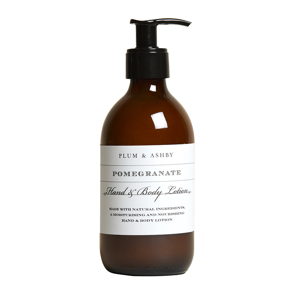 Plum  Ashby - Hand and Body Lotion - 300ml - Pomegranate