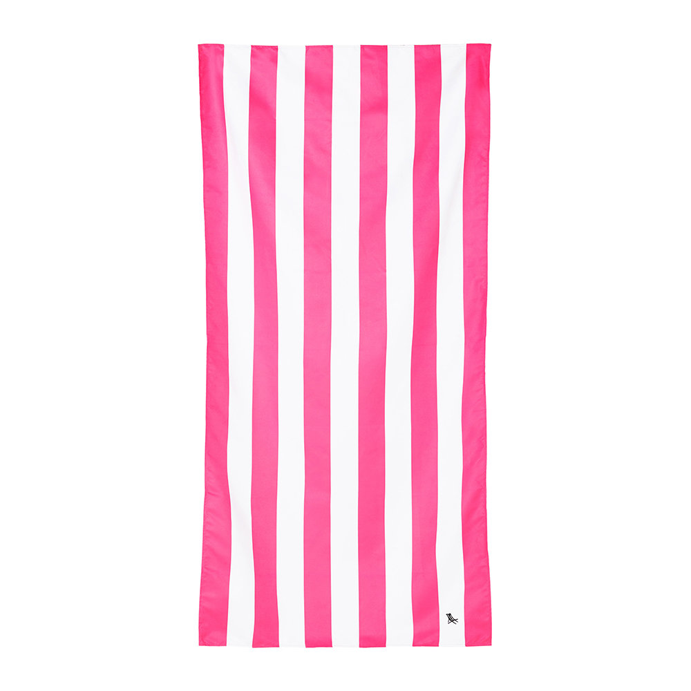 Dock  Bay - Cabana Beach Towel - Phi Phi Pink