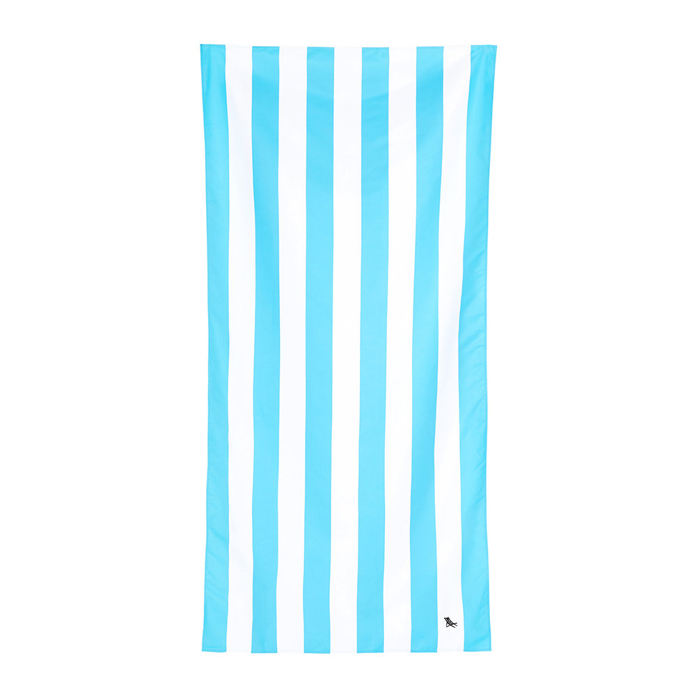 Dock  Bay - Cabana Light Beach Towel - Tulum Blue