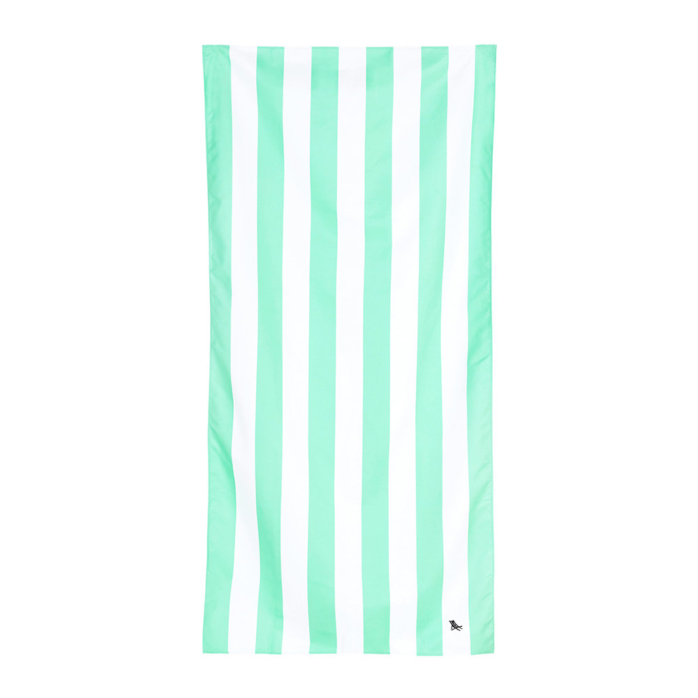 Dock  Bay - Cabana Light Beach Towel - Narabeen Green