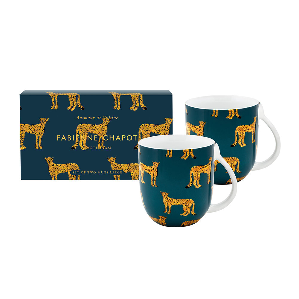 Fabienne Chapot - Cheetah Mug - Set of 2