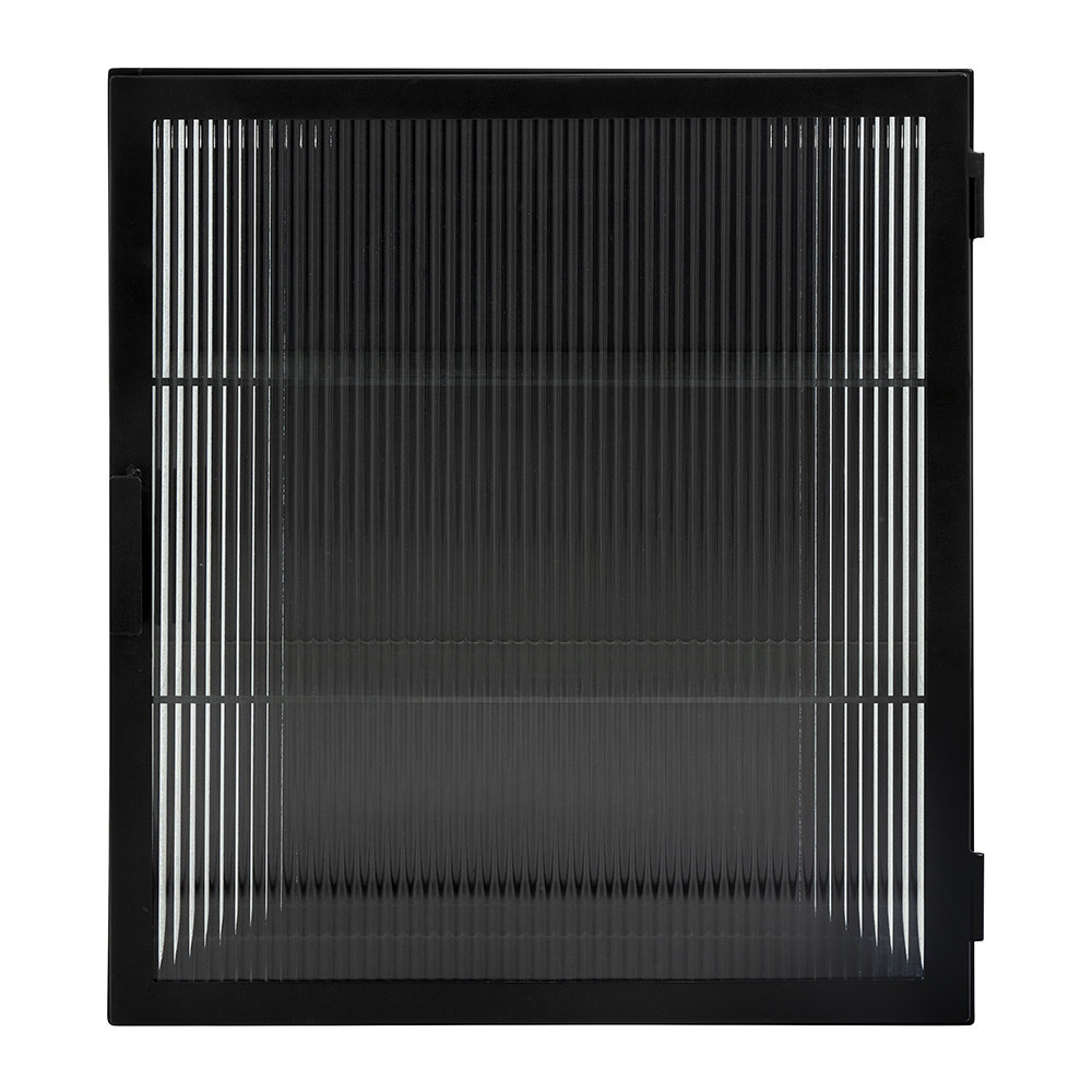 Nordal - Lines Wall Cabinet - Black