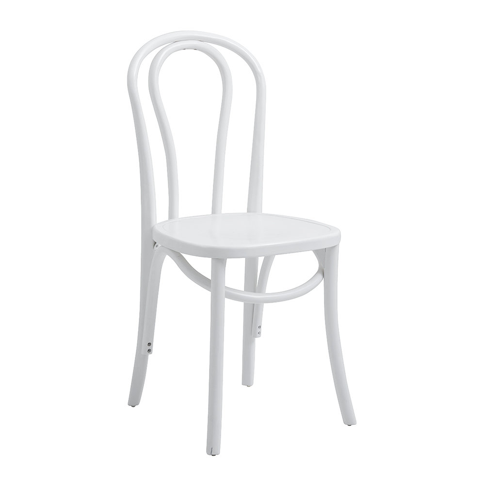Nordal - Bistro Chair - Shiny White