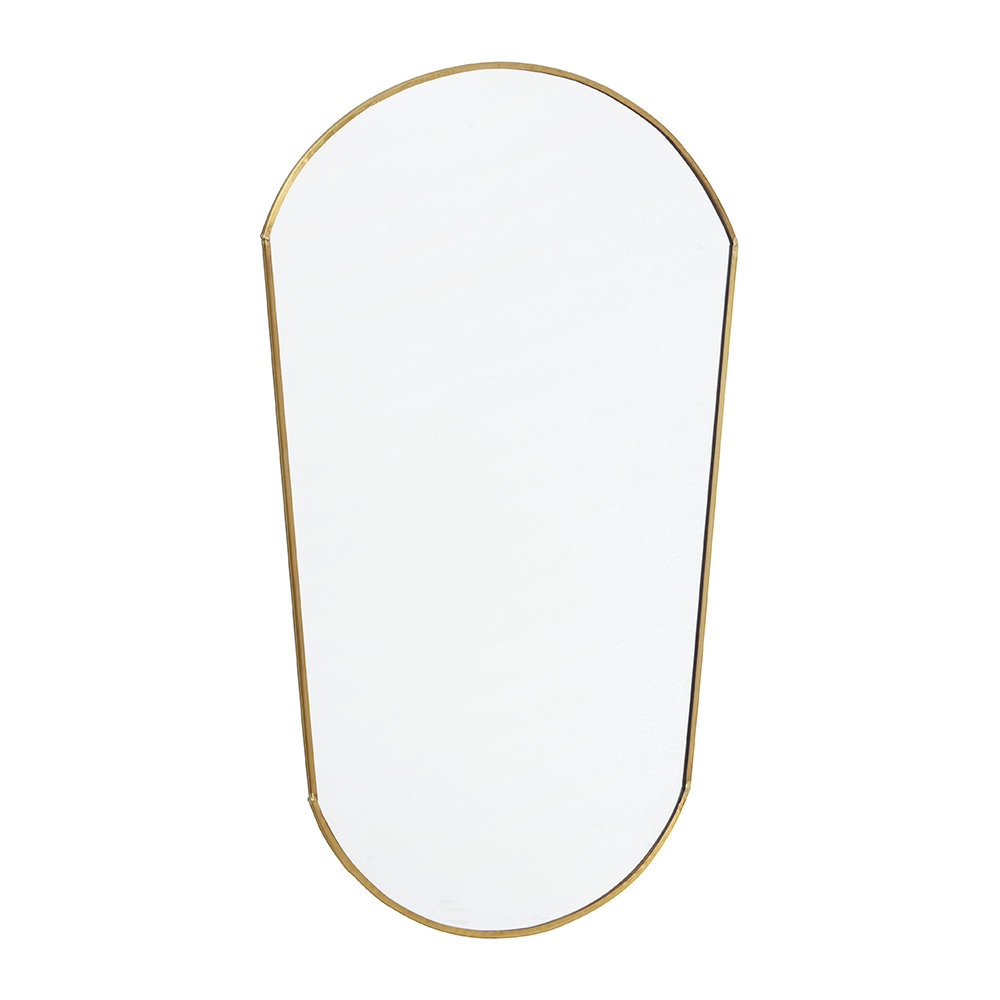 Nordal - Oval Mirror - Gold