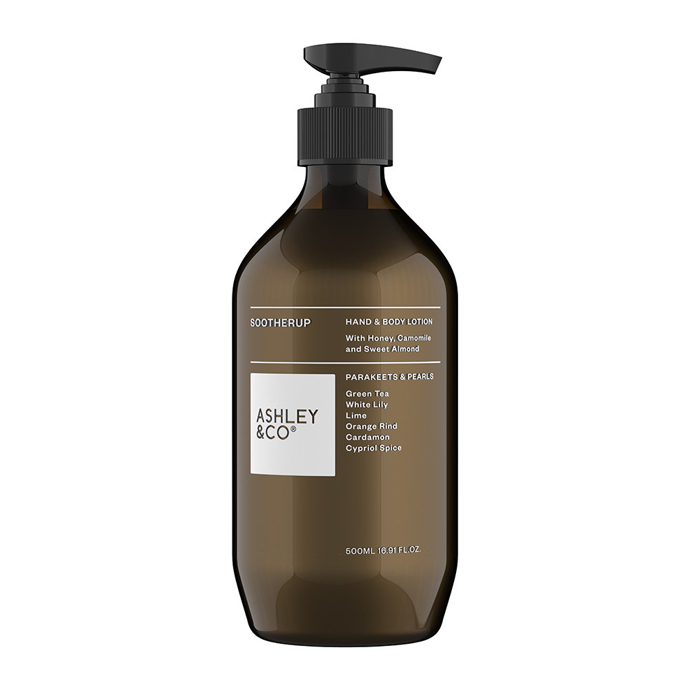 Ashley & Co - Sootherup Hand and Body Lotion - 500ml - Parakeets and Pearls