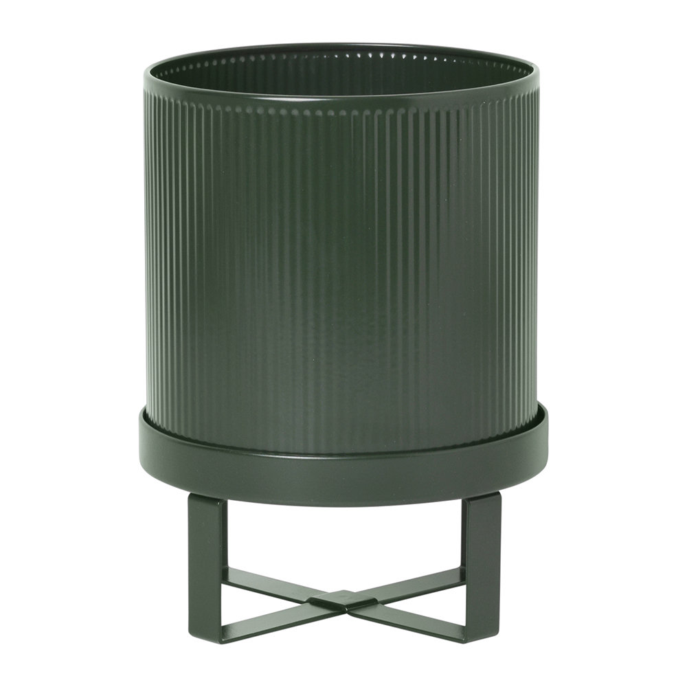 Ferm Living - Bau Plant Pot - Dark Green - Small