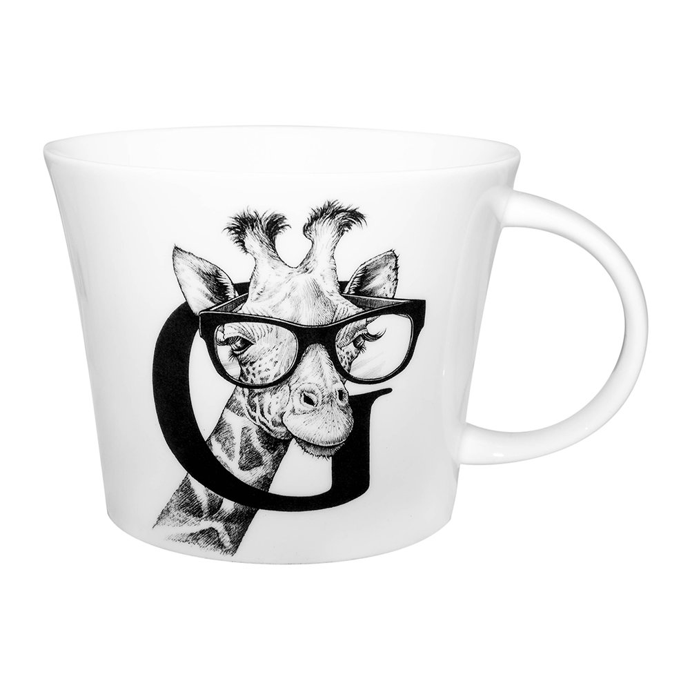 Rory Dobner - Mighty Mugs - G - Geoffrey Giraffe