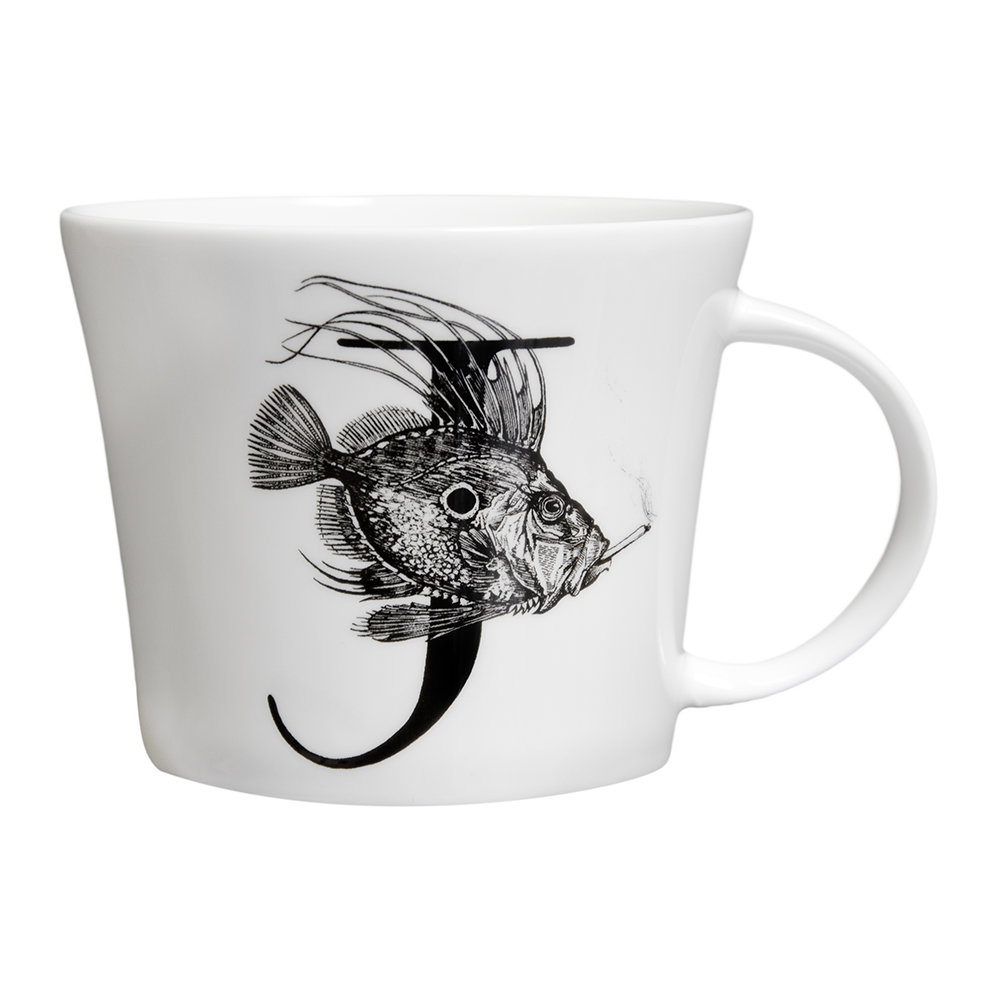 Rory Dobner - Mighty Mugs - J - John Dory