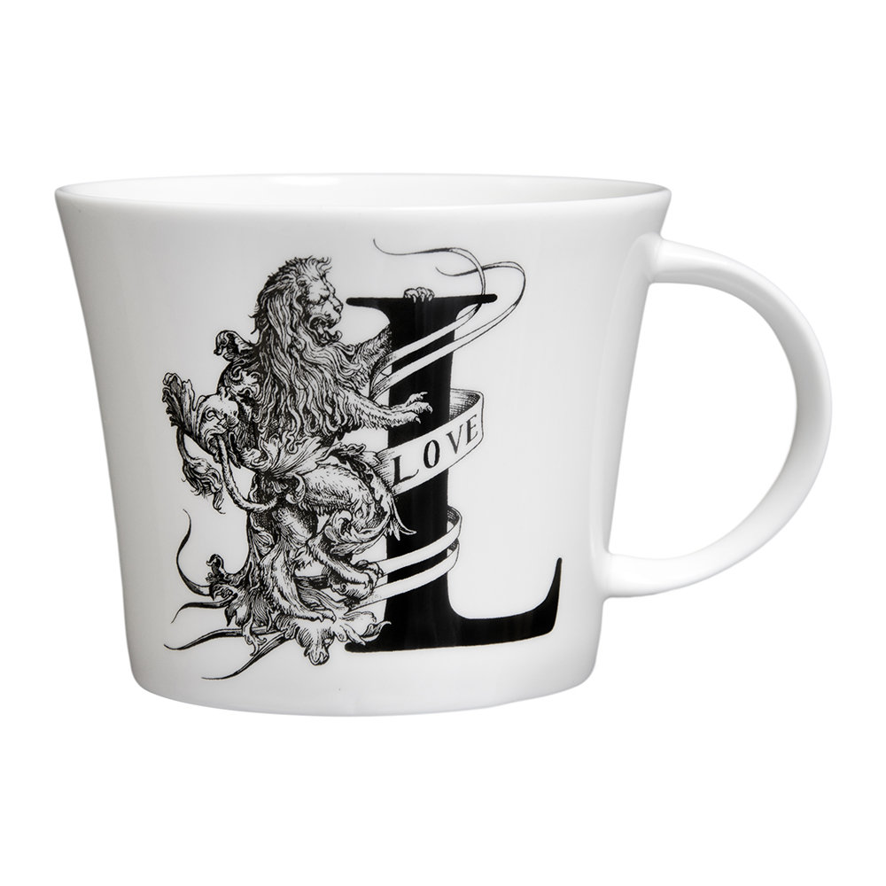 Rory Dobner - Mighty Mugs - L - Lionel Lion
