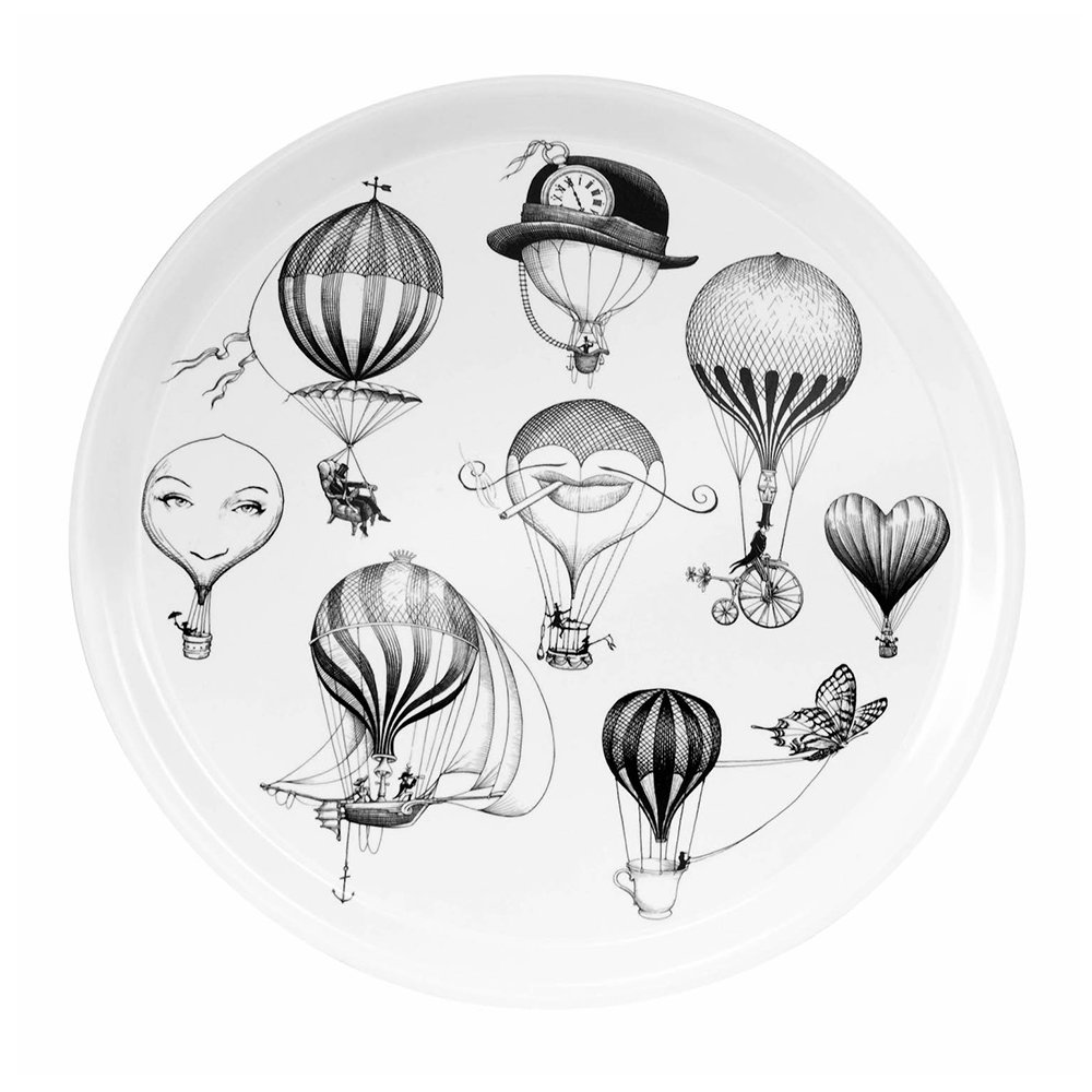 Rory Dobner - Plateau Circulaire Ballons - Petit