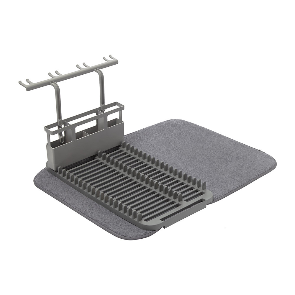 Umbra - Udry Dishrack with Dry Mat - Charcoal