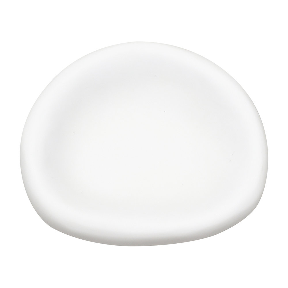 Tina Frey Designs - Amoeba Soap Dish - White - Medium