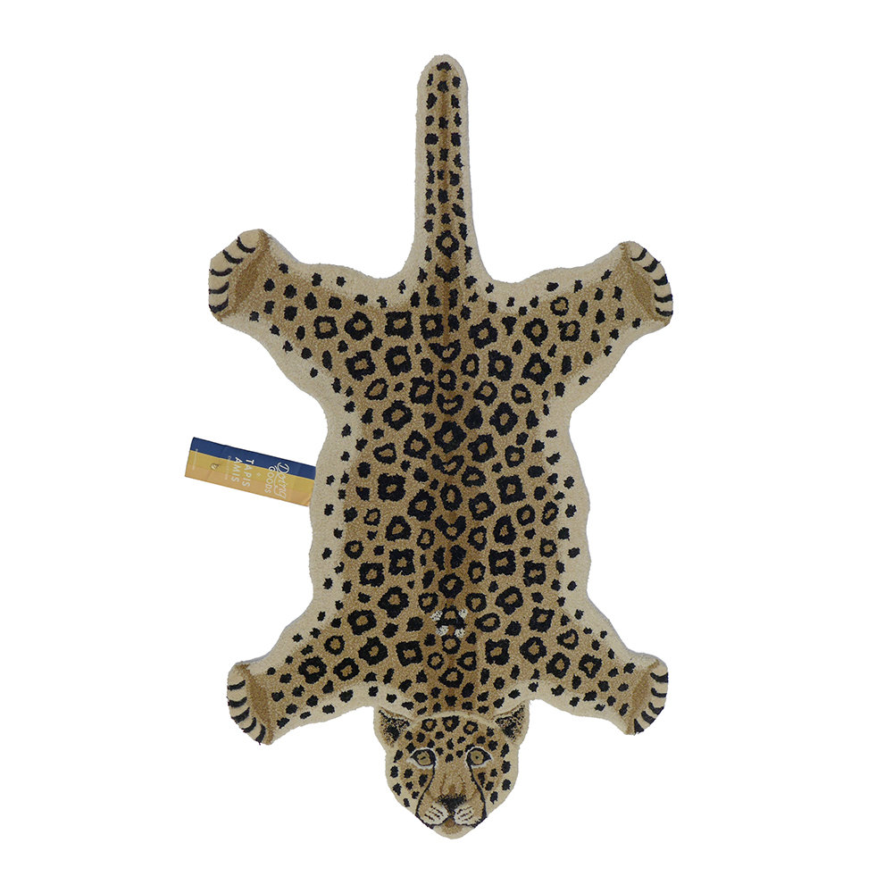 Doing Goods - Loony Leopard Rug - Brown - Large