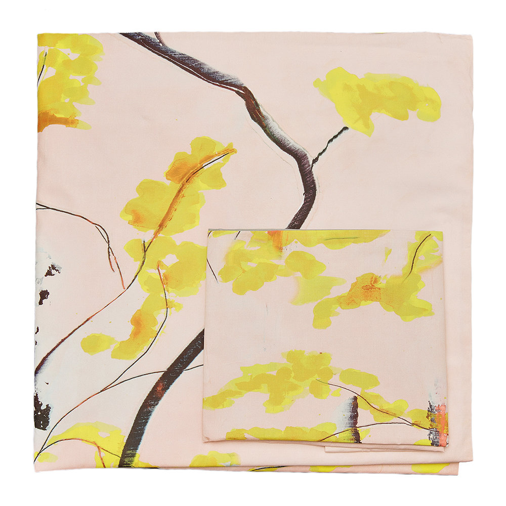 Anna Jacobs - Chinese Tree Quilt Set - Double