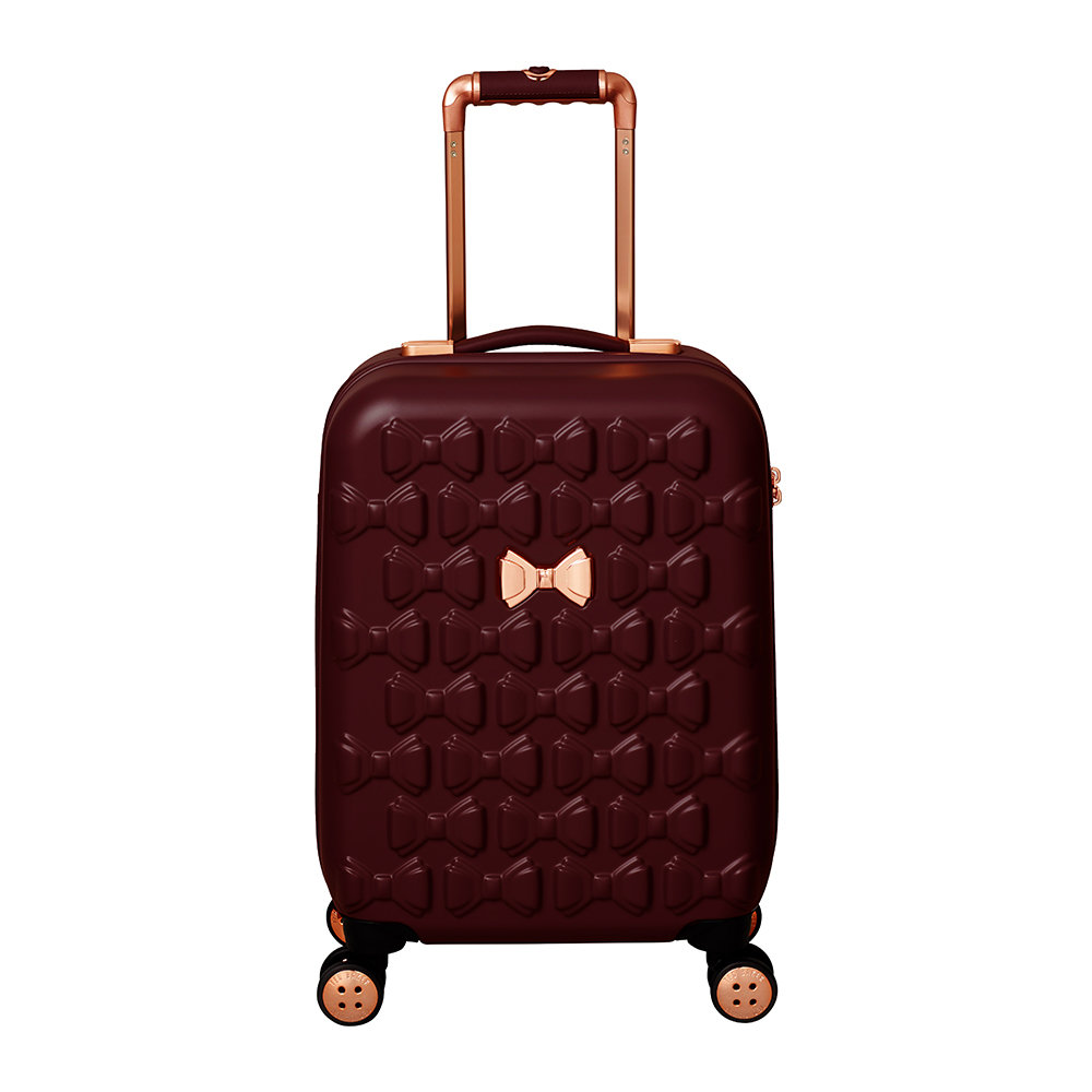 Ted Baker - Beau Suitcase - Burgundy - Limited Edition - Small