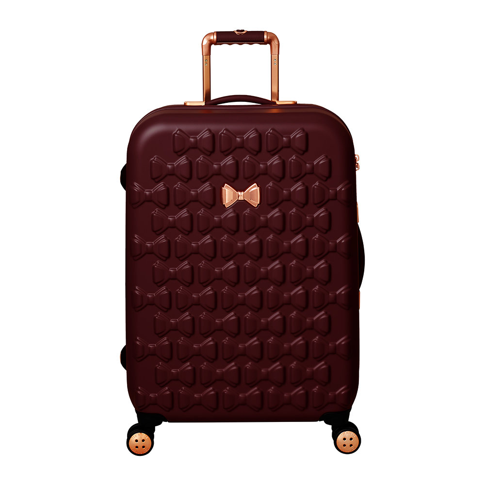 8e0a69fcb496 Buy Ted Baker Beau Suitcase - Burgundy - Limited Edition - Medium ...