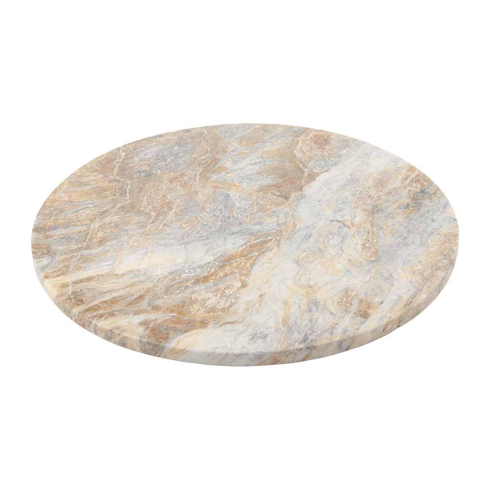 Stoned - Gravity Marble Round Serving Board