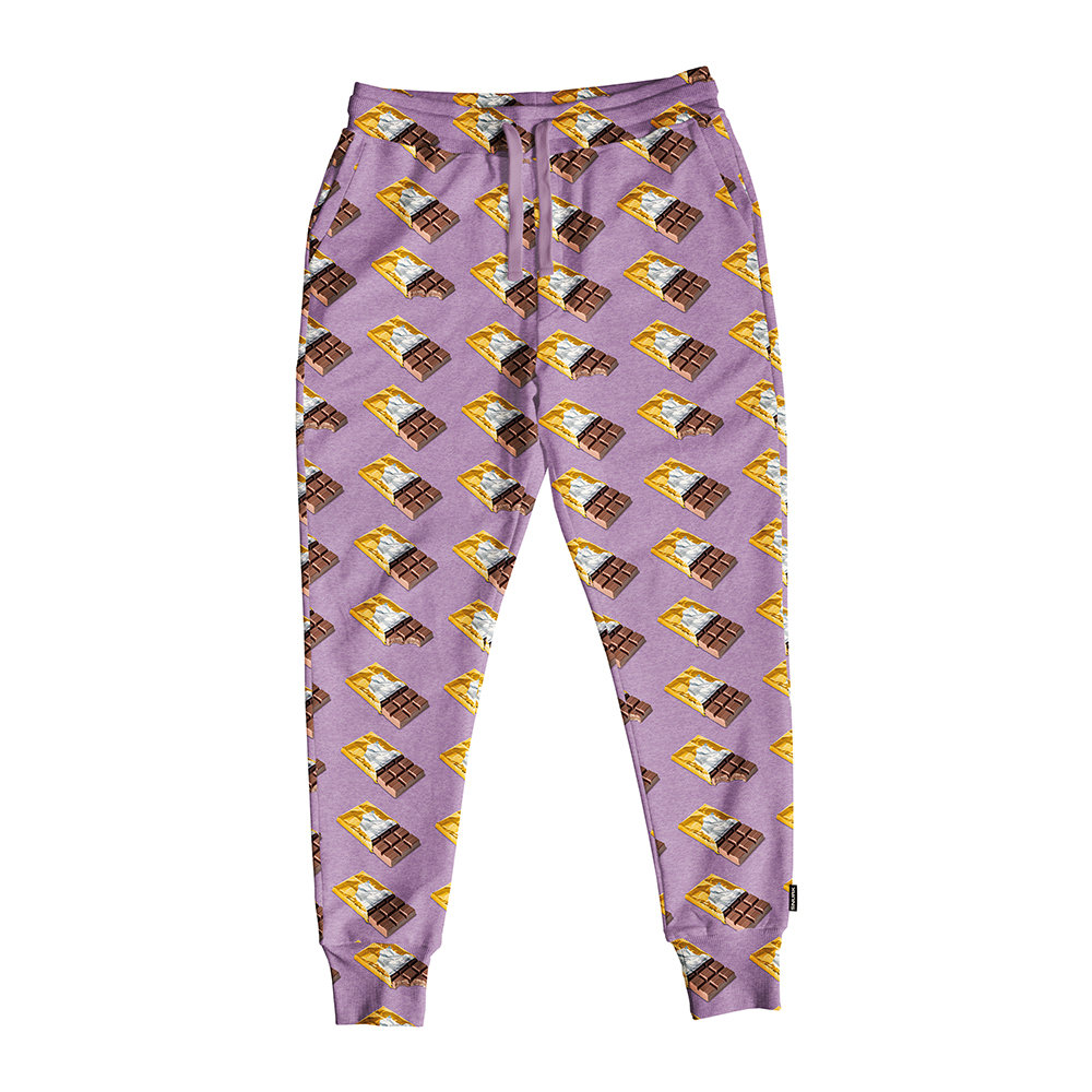 Snurk - Women's Chocolate Dream Lounge Trousers - Purple