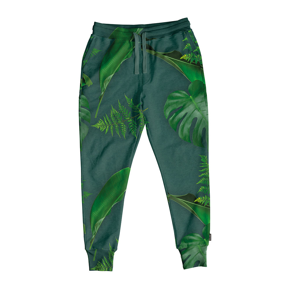 Snurk - Women's Green Forest Lounge Trousers