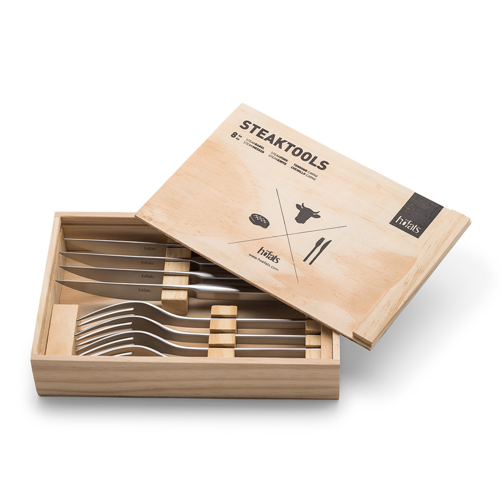 Hoefats - Steak Tools - Set of 8