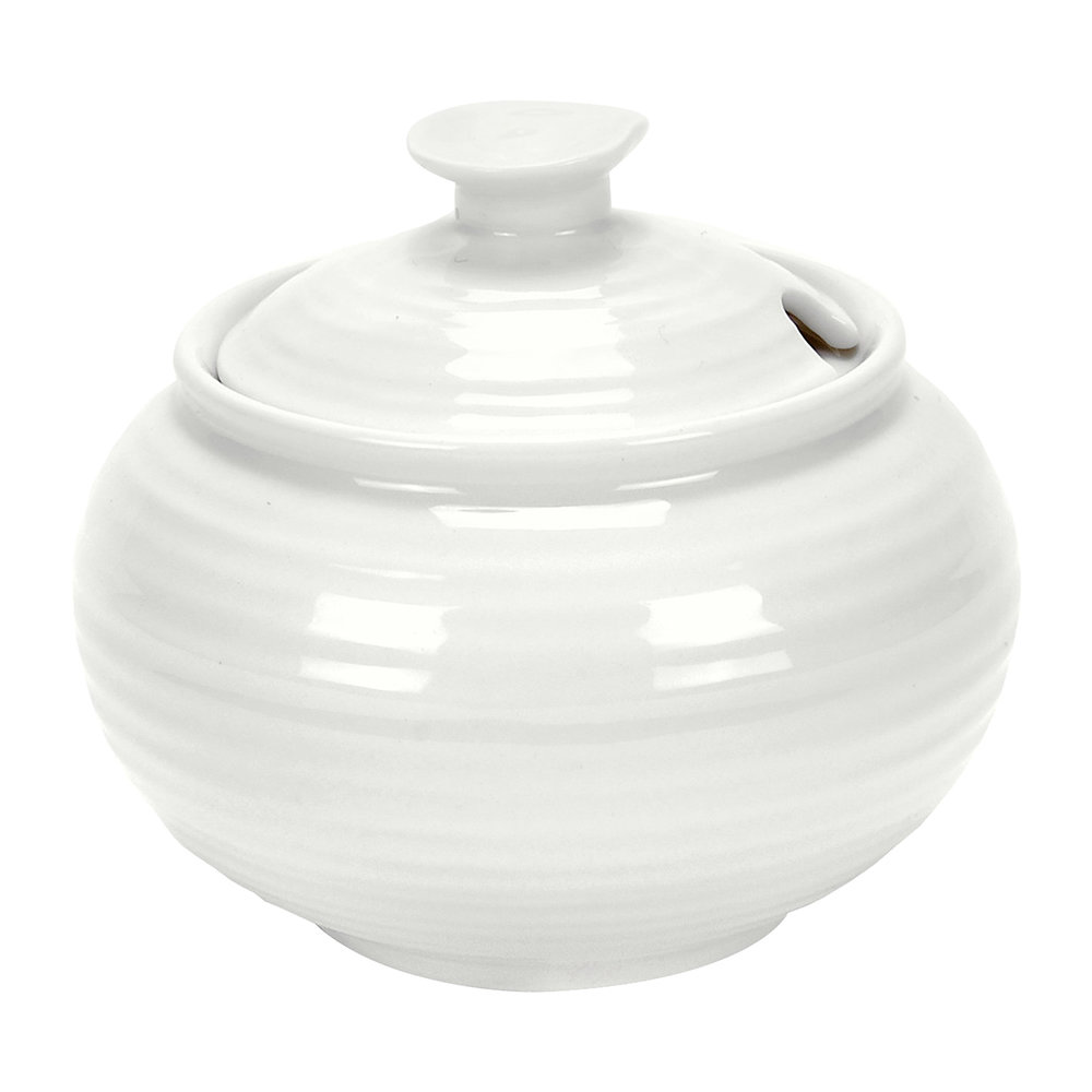 Sophie Conran - White Porcelain Covered Sugar Bowl
