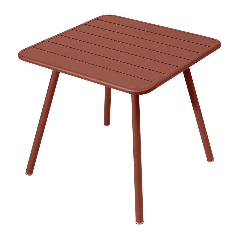 Fermob - Luxembourg Garden Table - Red Ocher