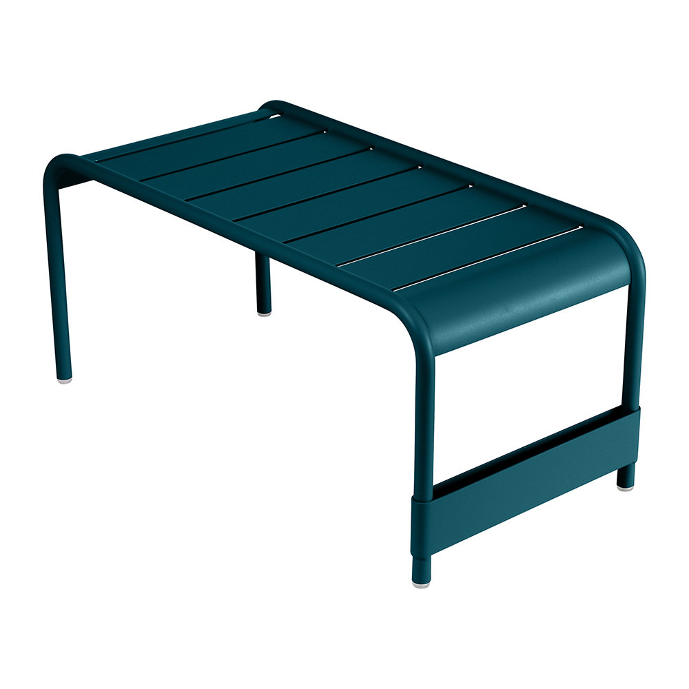 Fermob - Luxembourg Low Table - Acapulco Blue