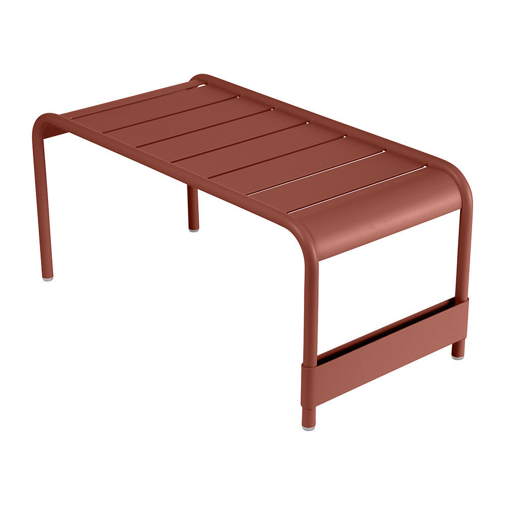 Fermob - Luxembourg Low Table - Red Ochre