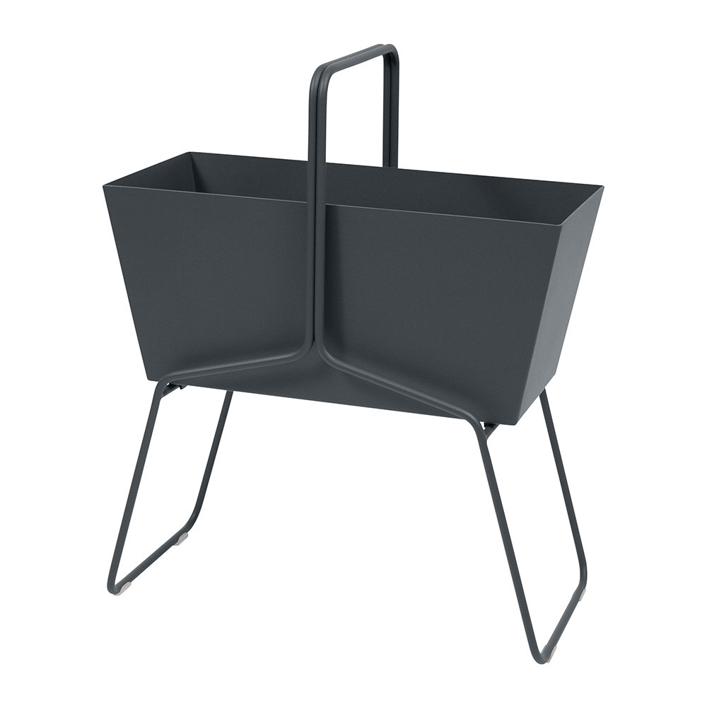 Fermob - Basket High Planter - Anthracite