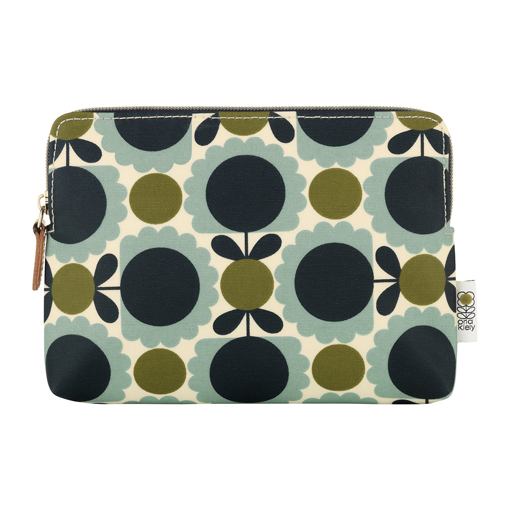 Orla Kiely - Scallop Print Cosmetic Bag