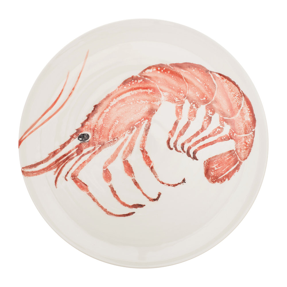 Bliss Home - Creatures Large Pink Prawn Platter
