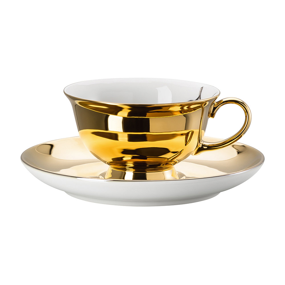 Rosenthal - Cilla Marea Espresso Cup and Saucer - Pattern 7