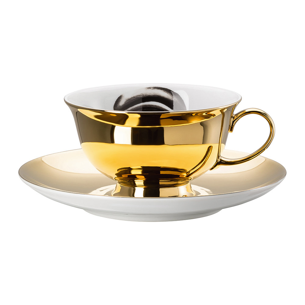 Rosenthal - Cilla Marea Cup and Saucer - Pattern 8