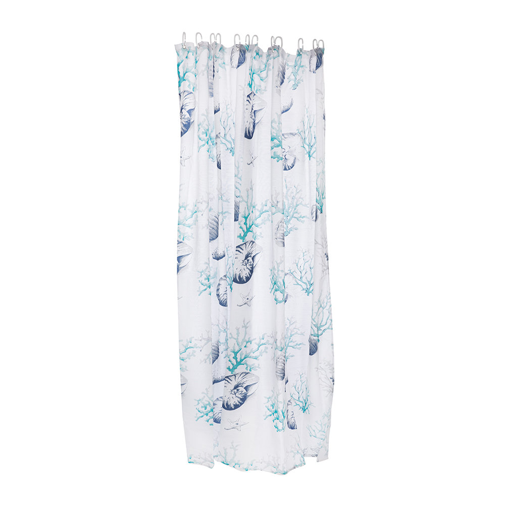 Marinette Saint Tropez - Corella Lagoon Shower Curtain - 180 x 200cm