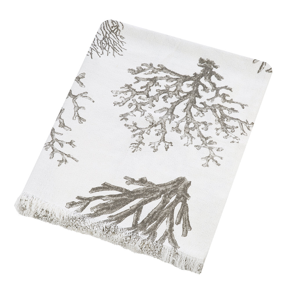 Marinette Saint Tropez - Bonifacio Throw - Grey