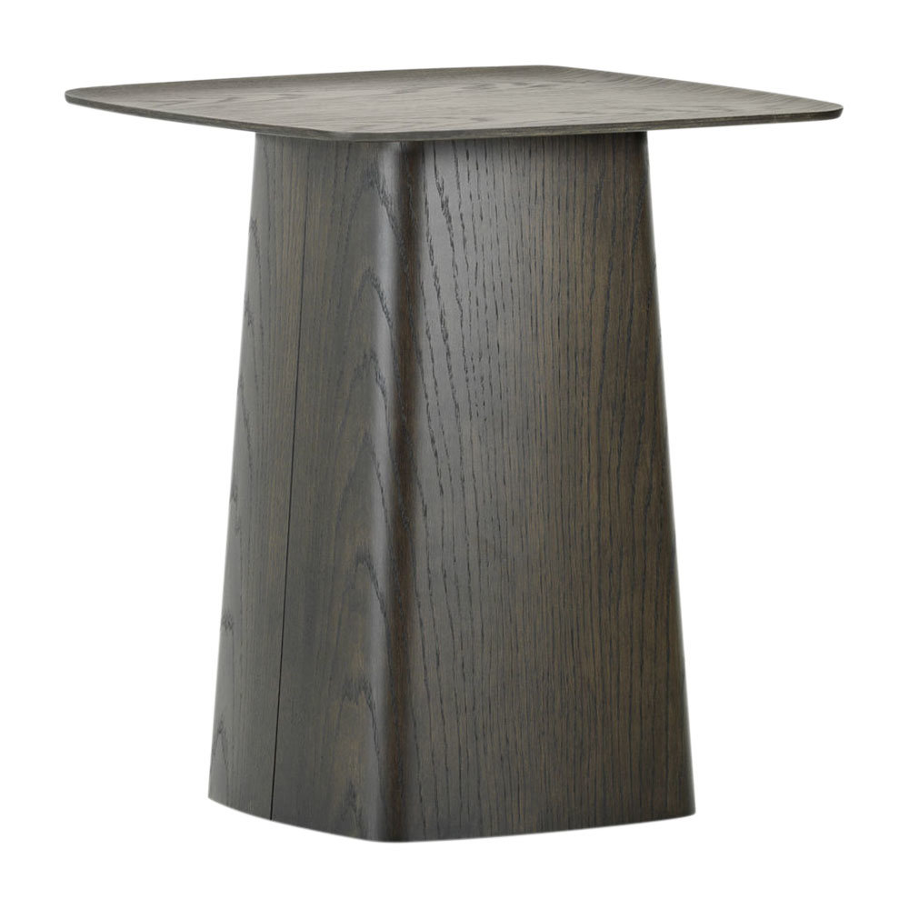 the latest b1383 8b74e Wooden Side Table - Black - Medium