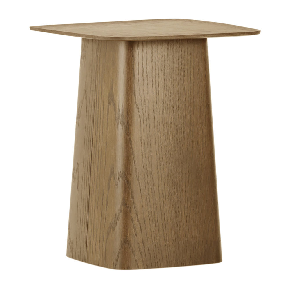 Wooden Side Table Walnut Small