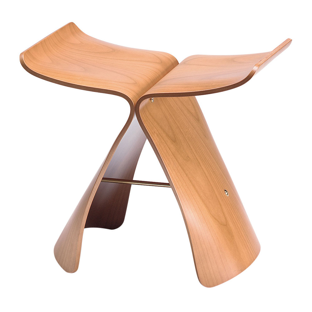 Vitra - Butterfly Stool - Maple