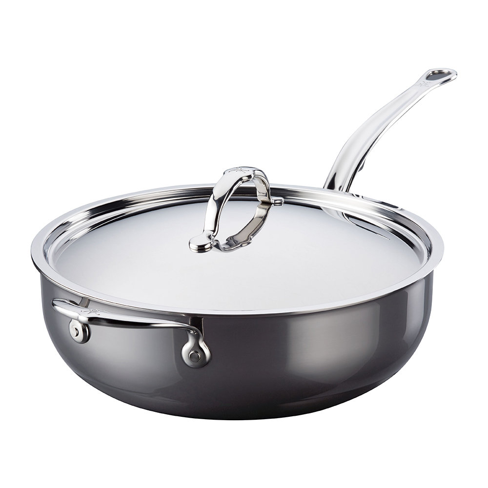 Hestan - Stainless Steel Essential Pan  Lid with Handle - 28cm