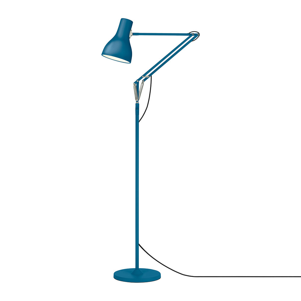 Anglepoise - Type 75 Floor Lamp - Margaret Howell - Saxon Blue Edition