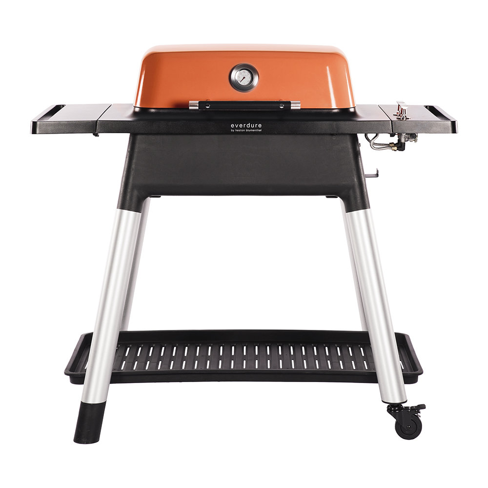 Everdure by Heston Blumenthal - Force Gas BBQ with Stand - Orange