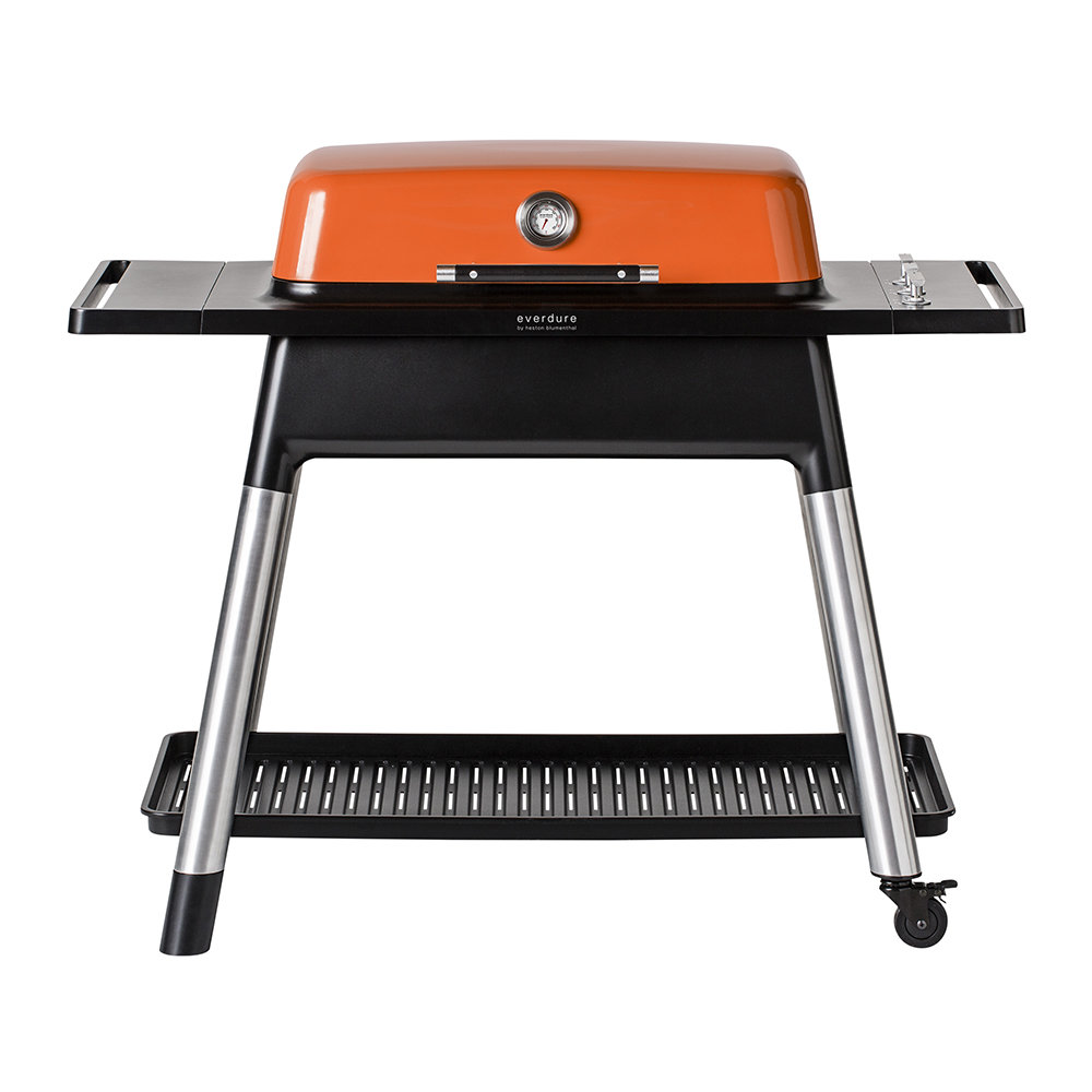 Everdure by Heston Blumenthal - Furnace Gas BBQ with Stand - Orange