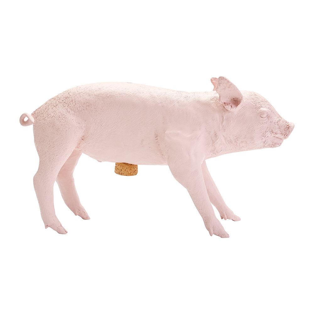 Areaware - Reality Collection Bank in the Form of a Pig Money Bank - Pink
