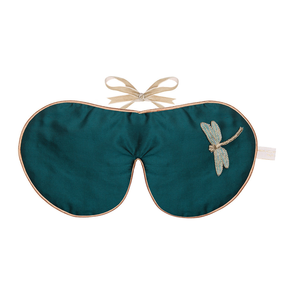 Holistic Silk - Emerald Lavender Eye Mask