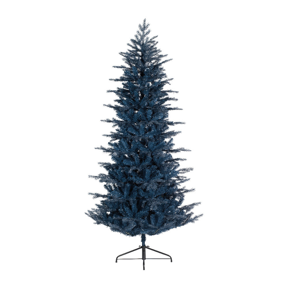 Buy A by Amara Frosted Arctic Pine Christmas Tree - Blue ...