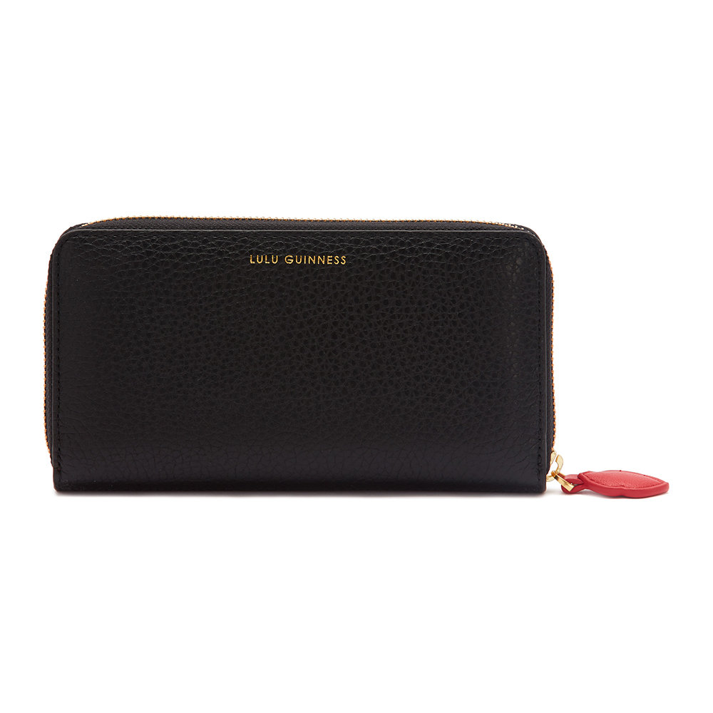 Lulu Guinness - Cupids Bow Continental Wallet