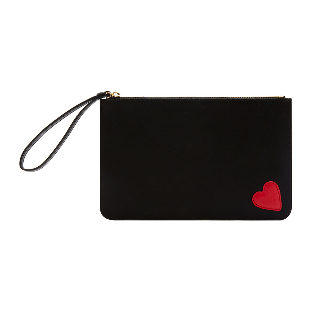 Lulu Guinness - Heart Grace Pouch
