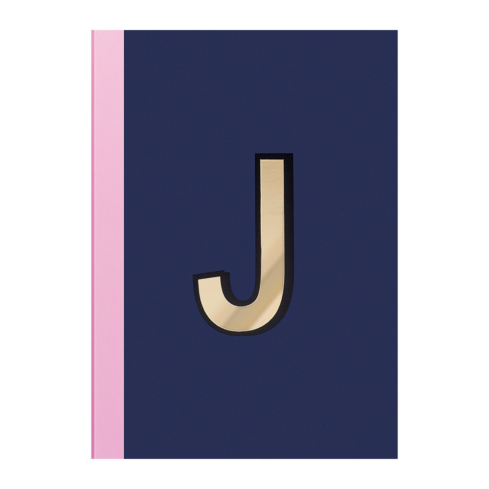 Re: Stationery - A5 Softcover Notebook - J