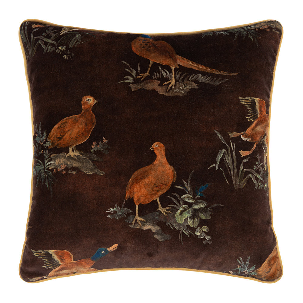 Mulberry Home - Game Show Cushion - 45x45cm - Spice